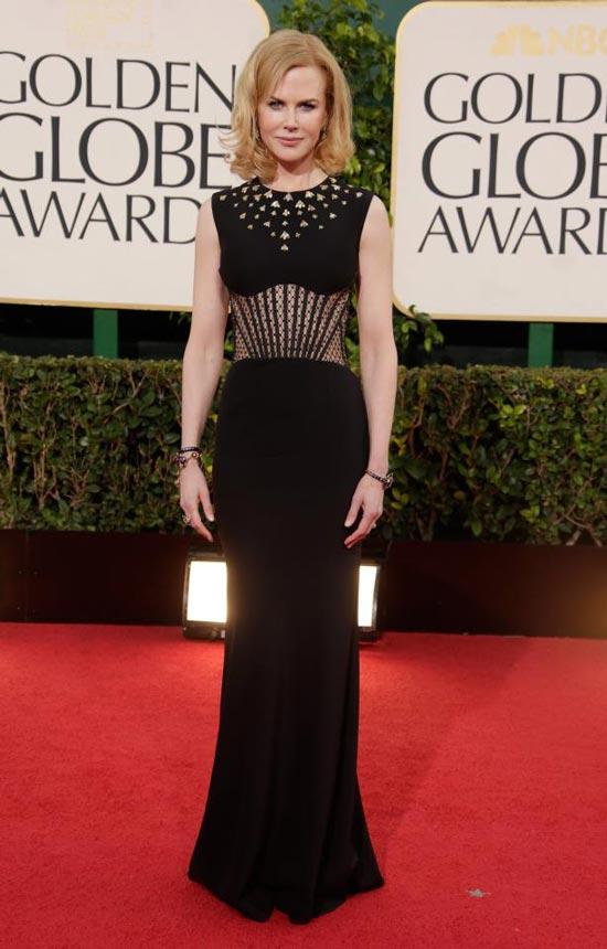 Nicole Kidman, Alexander McQueen, McQueen, Golden Globes