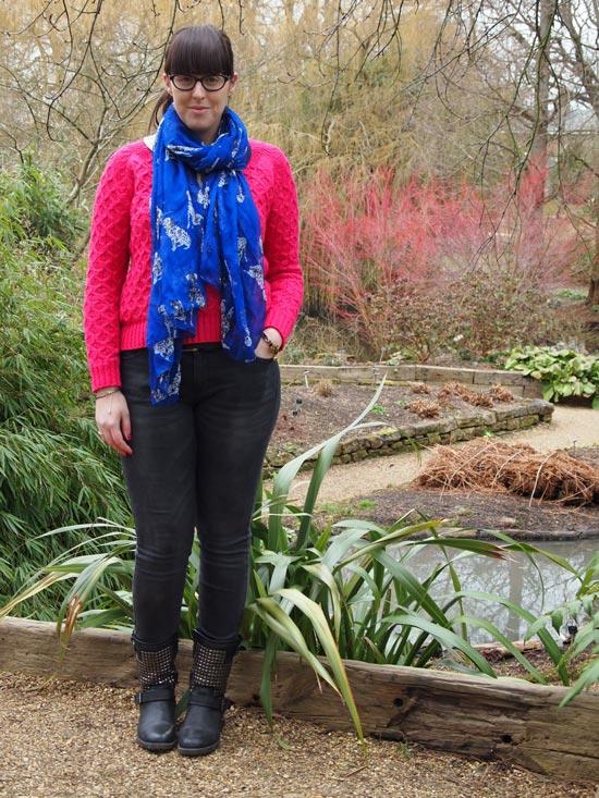 My Style: A Pop Of Colour & A Gorgeous Cambridge Garden