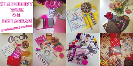 I Instagram: National Stationery Week