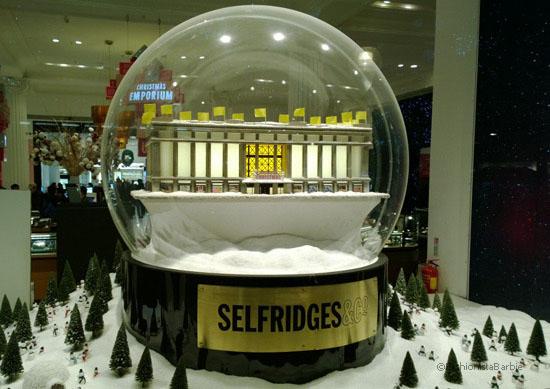 Christmas Windows: Selfridges' Oversized Winter Wonderland