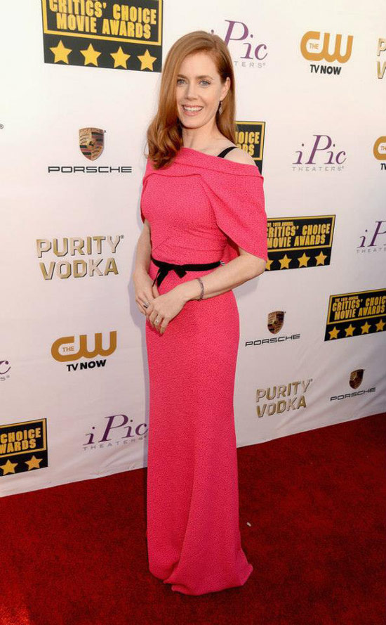 Critics' Choice Movie Awards: Amy Adams Wears Barbie Pink