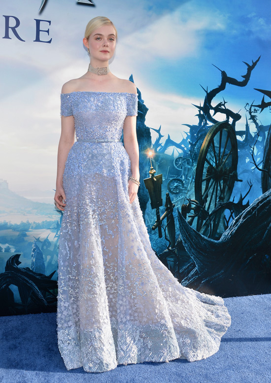 Maleficent: Elle Fanning Is A Princess In Elie Saab