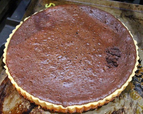 Gizmo Erskine,Salted Caramel Chocolate Tart,recipe,dessert recipe,baking,tart,chocolate,brunch