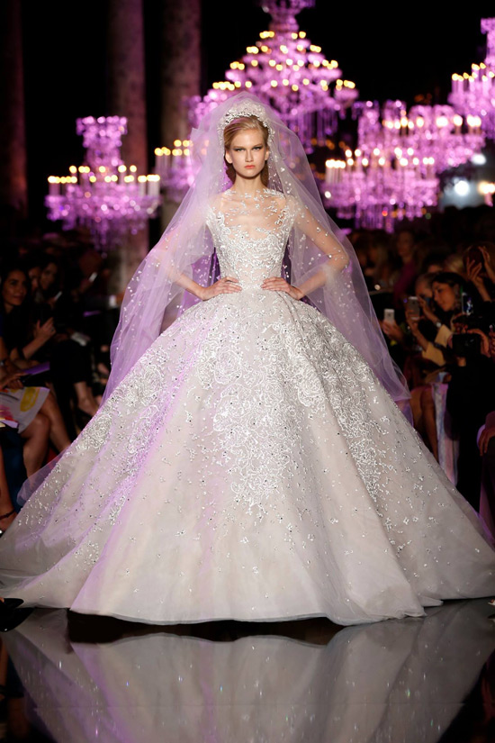 Haute Couture Week: 10 Wedding-Worthy Gowns At Elie Saab