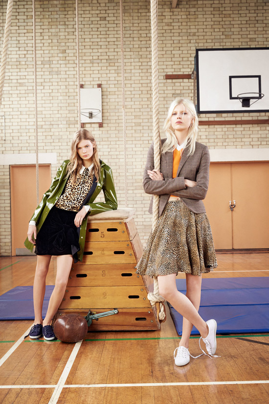 Campaign Loving: Zara Goes To P.E. Class