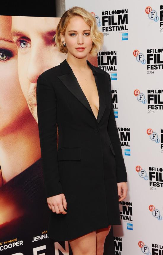 London Film Festival: Jennifer Lawrence In Christian Dior