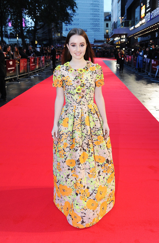 London Film Festival: Kaitlyn Dever In Andrew Gn
