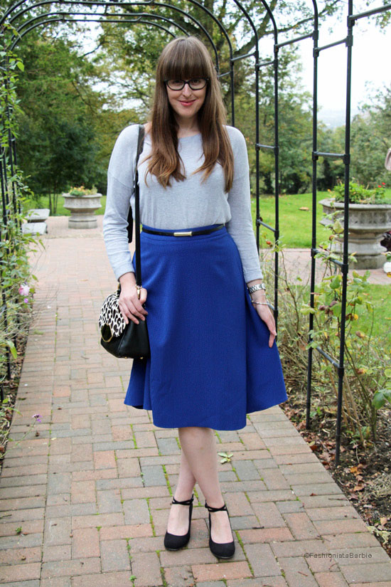 midi skirt,asos,skirt,asos skirt,style post,style blogger,fashion blogger,fashion,blue,lulu guinness