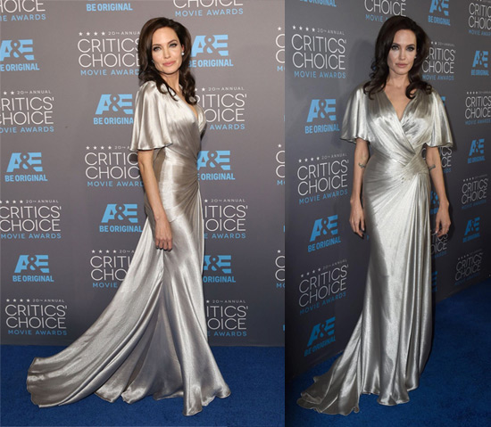 critics' choice awards,critics choice.angelina jolie,red carpet,celebrity,fashion