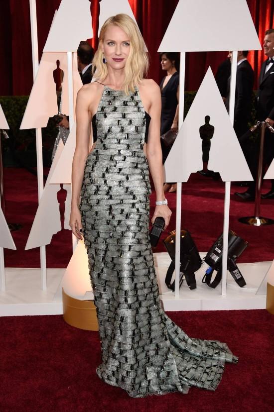 Oscars 2015: Naomi Watts In Armani Privé