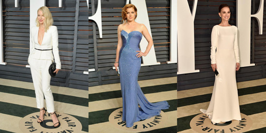 Vanity Fair Oscar Party: Best Dressed Round-Up