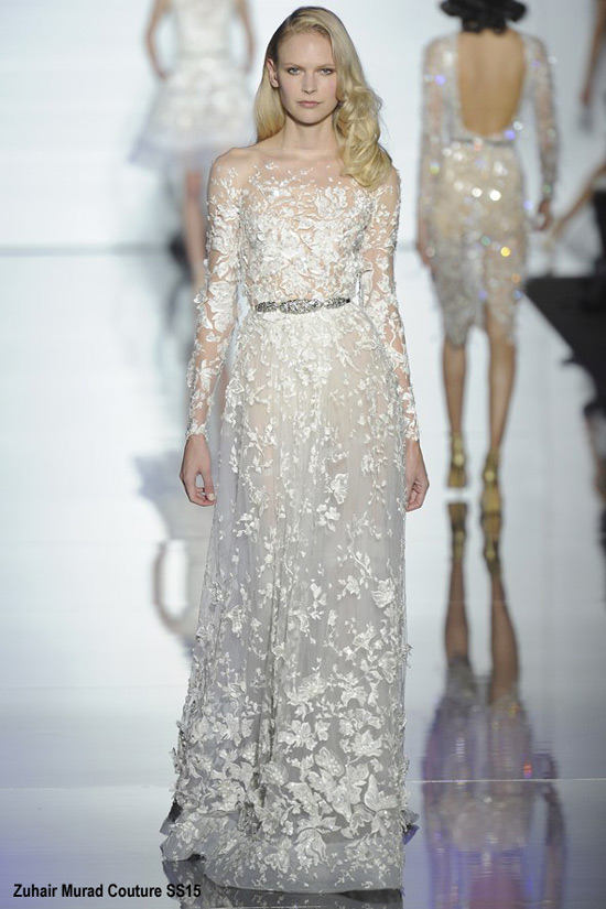 Haute Couture SS15: 10 Beautiful Wedding Gowns