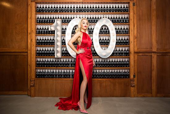 rita ora,coco cola,red,celebrity,singer,red carpet,glamour,interview