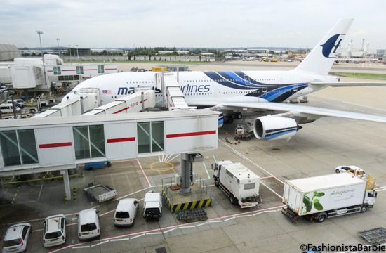 Flying Malaysia Airlines Business Class