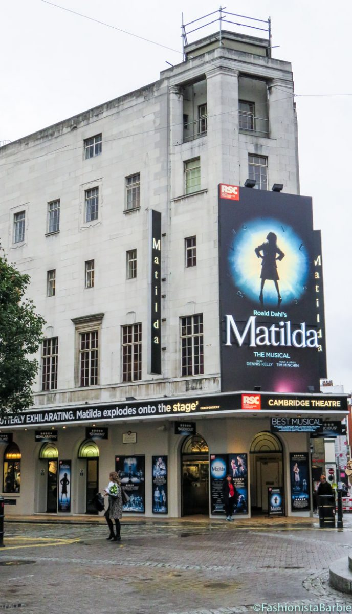 Matilda the musical,matilda,theatre,review,london, cambridge theatre