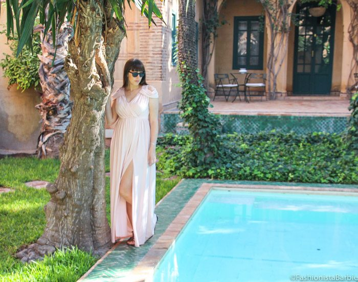 grecian,maxi dress,asos,marrakech,winter sun,thigh-high split,shoulders,sunshine,les deus tours hote