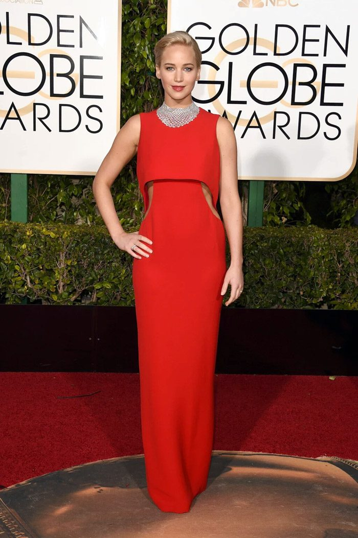 red carpet trends,trends,golden globes,golden globes 2016,red carpet,best dressed,celebrity,hollywood,fashion,glamour,jennifer lawrence,dior,red