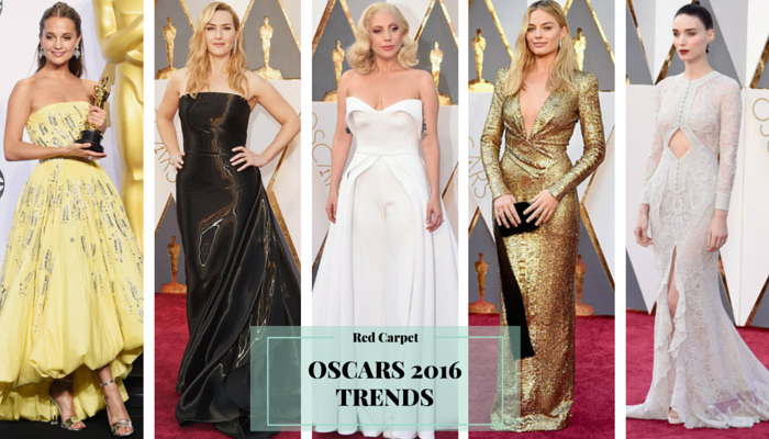 Oscars 2016 Red Carpet Trends