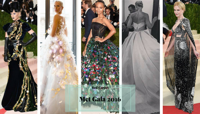 Met Gala 2016: My Top 5 Best-Dressed Looks