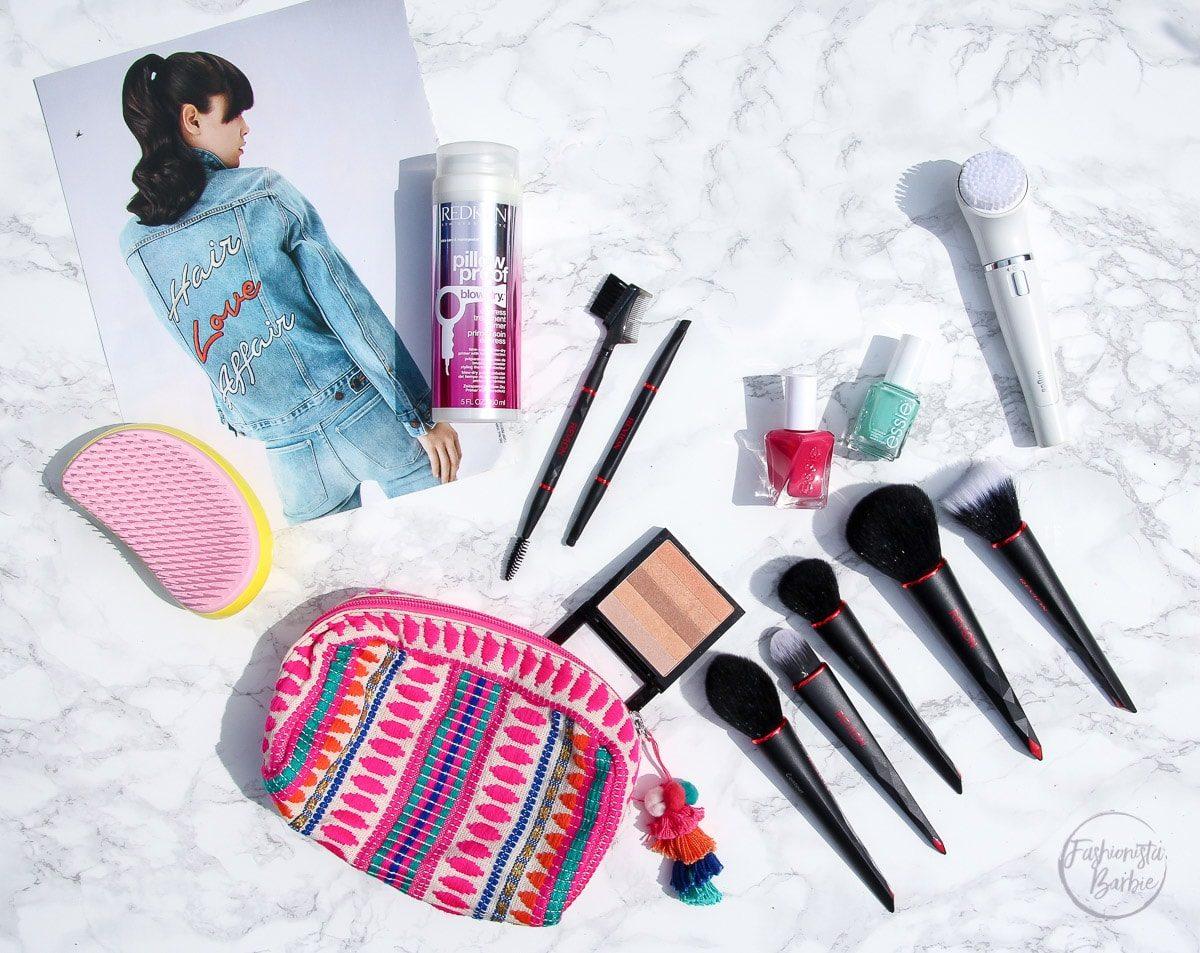 june beauty favourites, beauty favourites, beauty, essie, braun, redken, hair, tangle teezer, make-up, revlon brushes, revlon, braun face, essie gel couture, beauty, beauty blogger, top UK beauty blogger, fashionista barbie