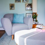 DFS, DFS Betsy, DFS Armchair, Armchair, Decor, Interiors, Lifestyle, Home, Chair, Footstool