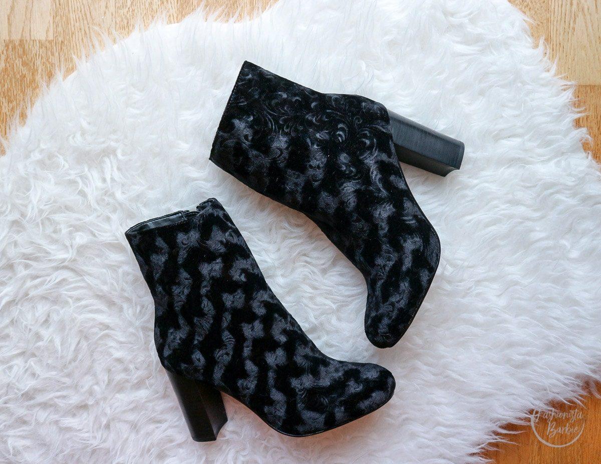 Velvet, Trend Alert, AW16 Trend, Fashion, Shopping, Fashionista Barbie, Velvet Boots
