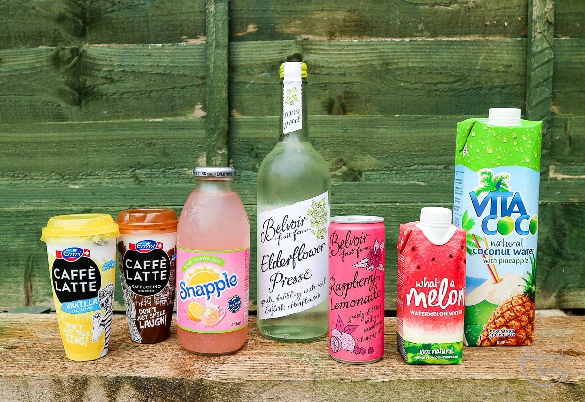 refreshing summer drinks, vita coco, snapple, what a melon, caffe latte, belvoir, summer drinks, drink
