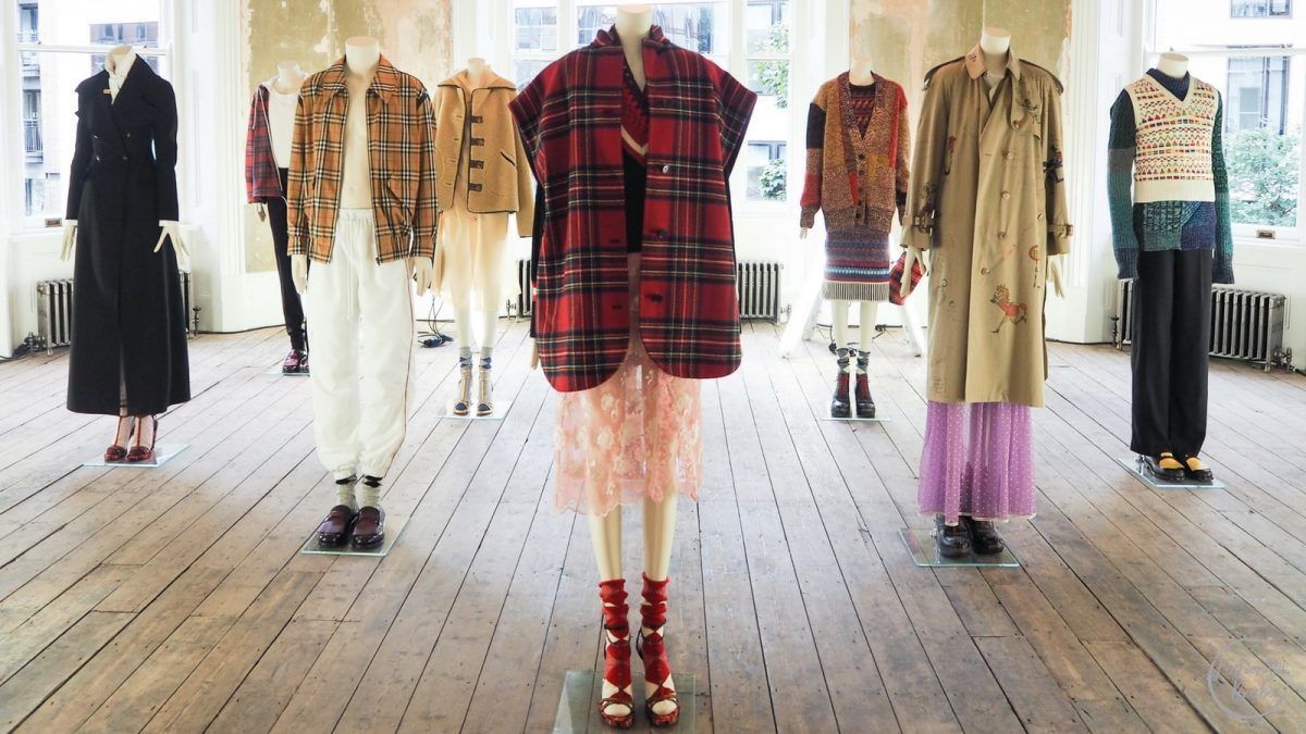 Burberry Exhibition 'Here We Are'