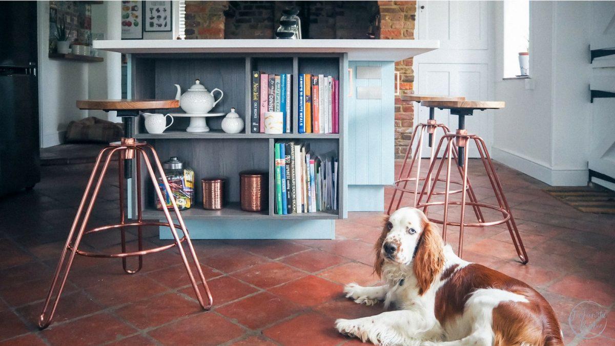 Kitchen Details: My Lights, Stools, Appliances & Dresser