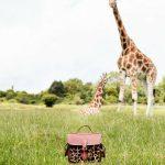 Cambridge Satchel Company, Aspinall Giraffe Collection, The Aspinall Foundation, Cambridge Satchel, Bag, Leather Bag, Giraffe, Port Lympne, Shopping