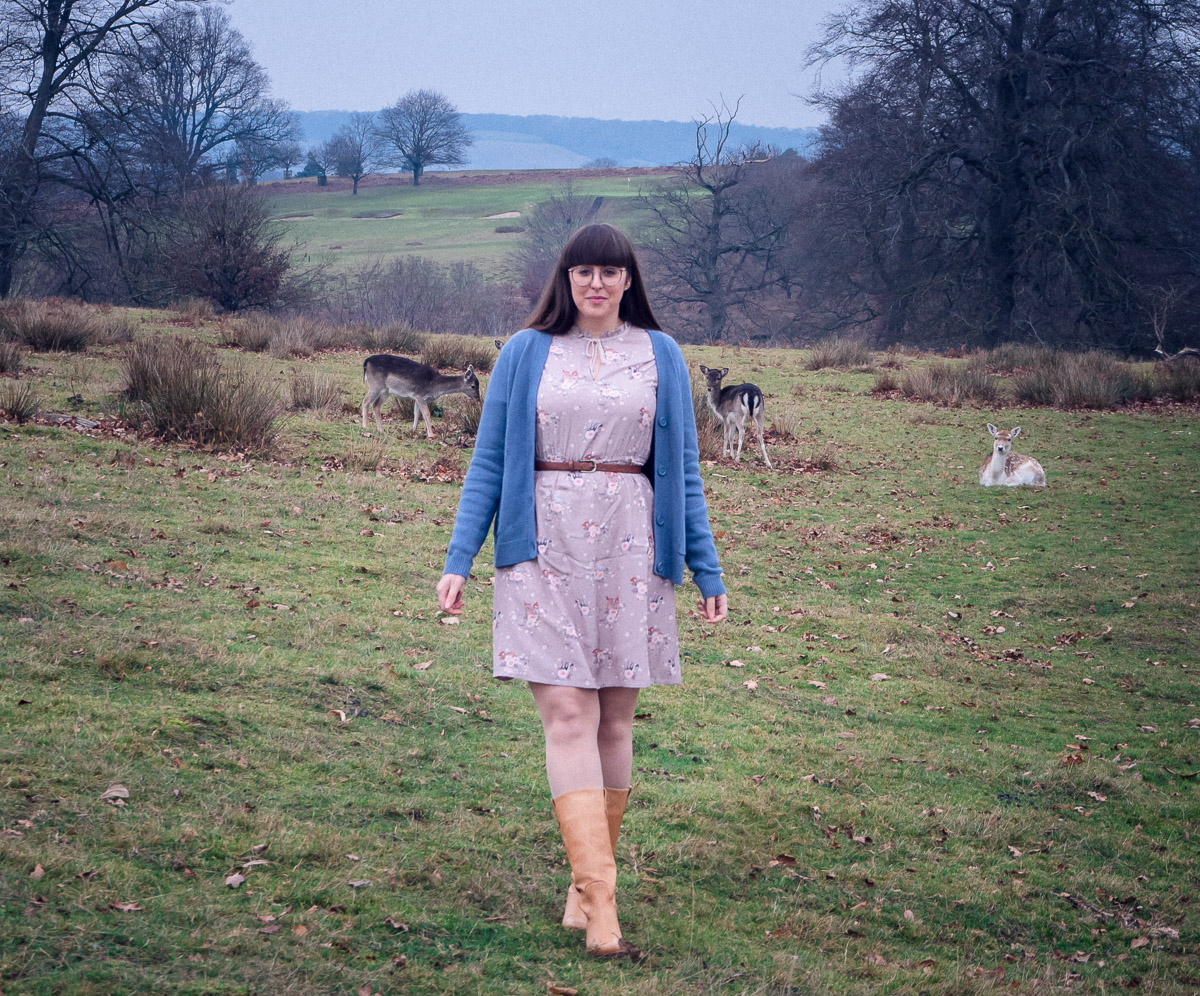 Bambi, Cath Kidston, Disney, Disney x Cath Kidston, It's A Danielle Life, Knole Park, Deer, Style Blogger, Disney Blogger, Disney Style, Fashion Blogger, It's A Danielle Life, Fashion, High Street Fashion