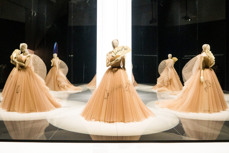 Inside Christian Dior: Designer Of Dreams Exhibition