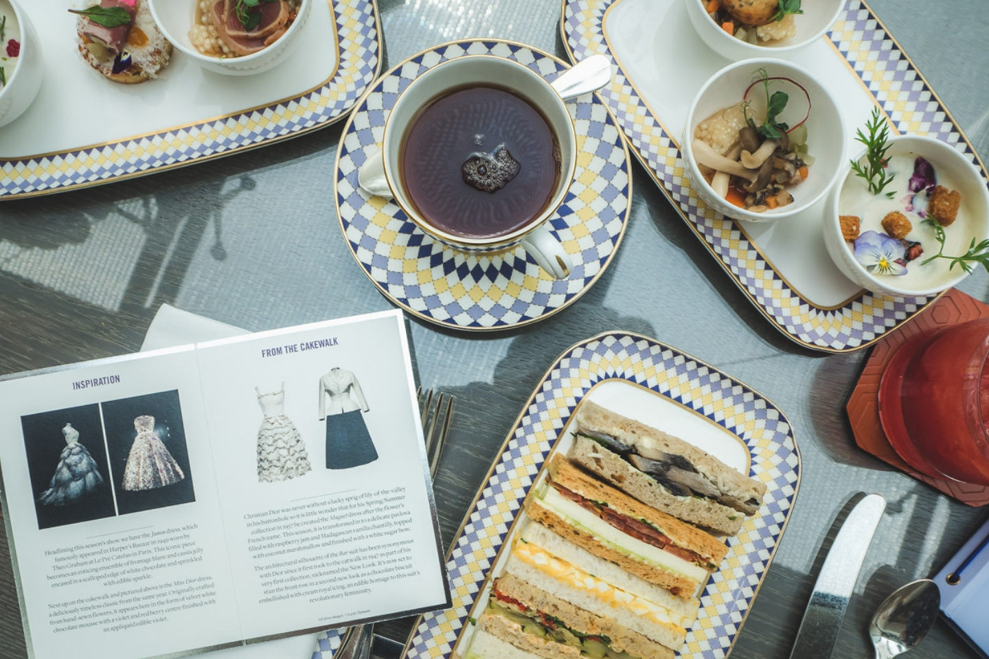 London Spots: Dior-Themed Afternoon Tea At The Berkeley