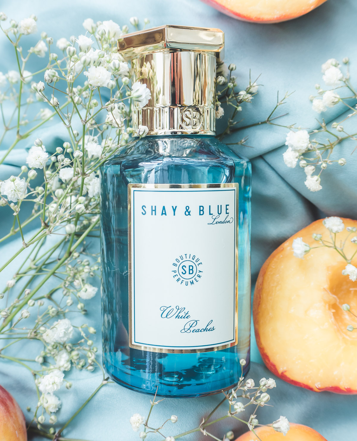 Shay & Blue Fragrance, Shay & Blue White Peaches, Fragrance Review, Fragrance, Perfume, Beauty, Fruit Fragrance