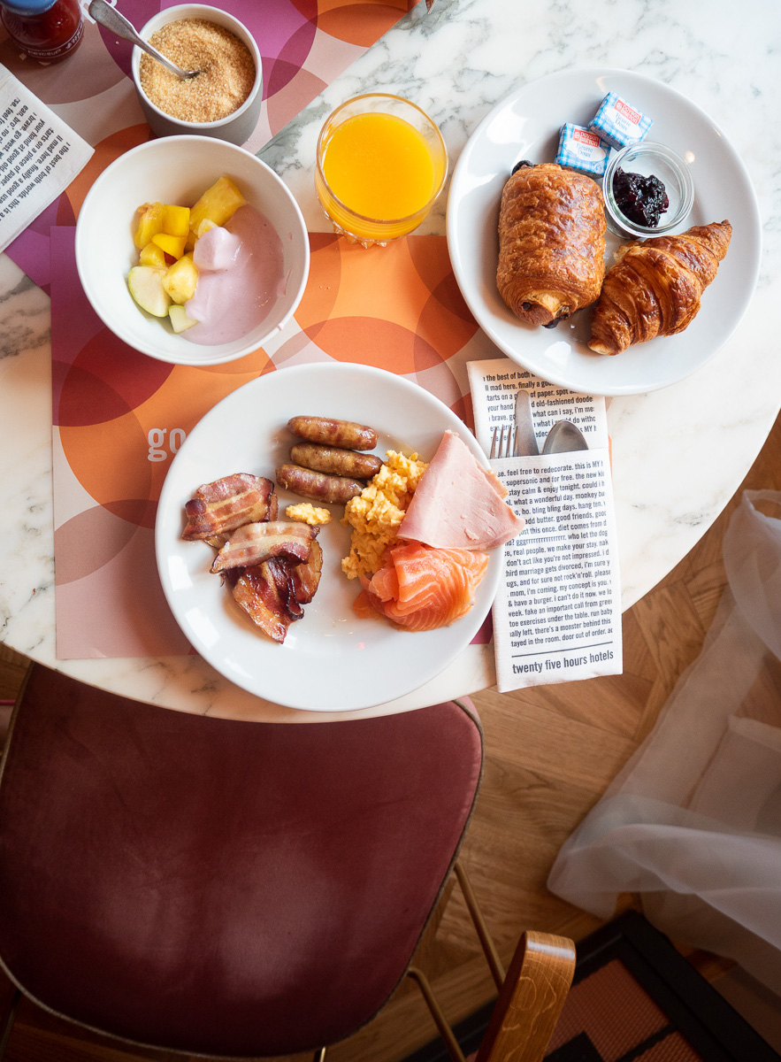 25 Hours Hotel, Paris, Paris Hotel, Design-led Paris Hotel, 25 Hours Hotel Paris Terminus Nord, Hotel Breakfast, Breakfast