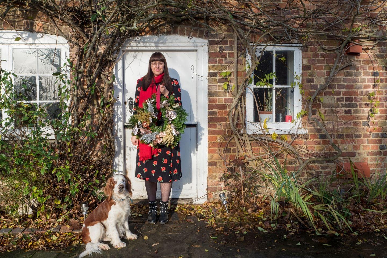 Christmas Wreath, DIY Christmas Wreath, How to make a Christmas Wreath, Christmas, Creative Christmas