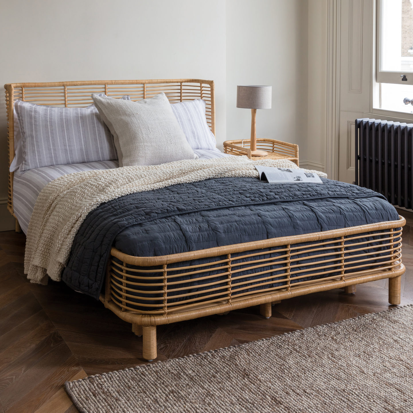 Rattan, Interior trend, Interiors, Decor, Rattan Bed