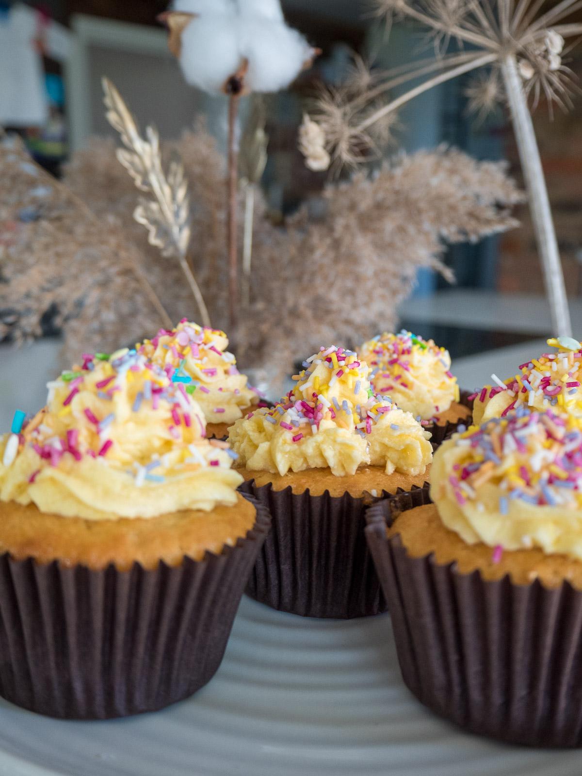 Vanilla Cupcake, Cupcake, Baking, Easy Baking, Children's Baking, Buttercream frosting