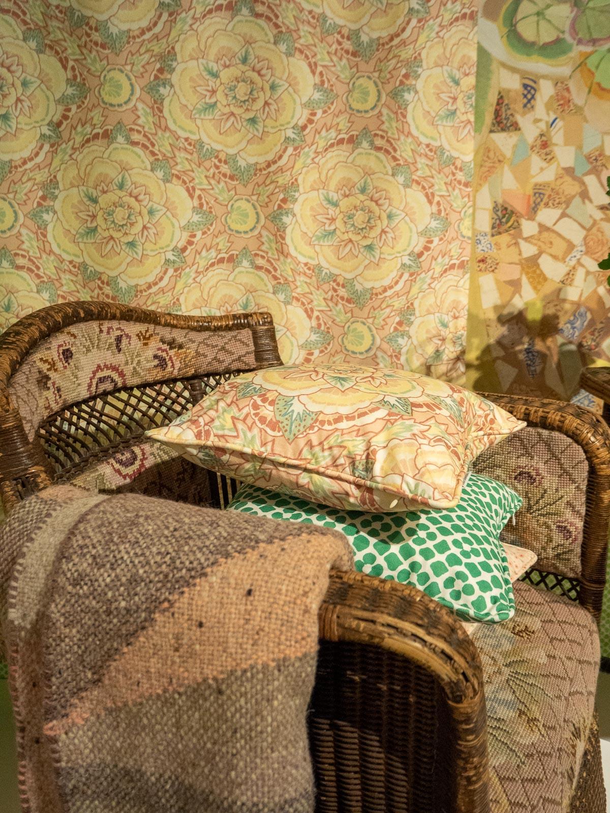 Designers Guild, Fashion and Textile Museum, Interiors, Decor, Exhibition, London, Trica Guild, Bold Interiors,